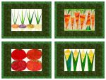 """Market Day"" Placemats - Pattern"